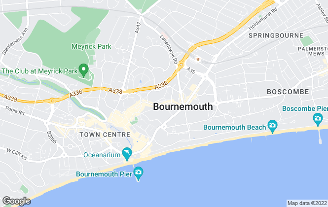 Map for PPM, Bournemouth