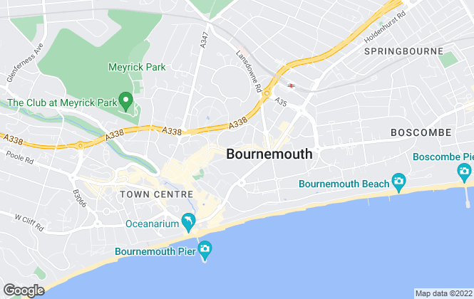 Map for Homes Direct Property Solutions Ltd, Bournemouth
