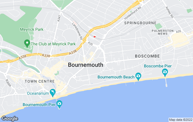 Map for Strato Homes Property Management , Bournemouth
