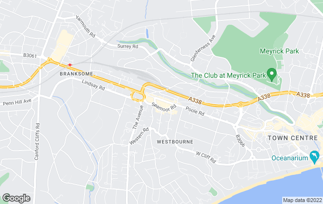 Map for Bournecoast LTD, Westbourne