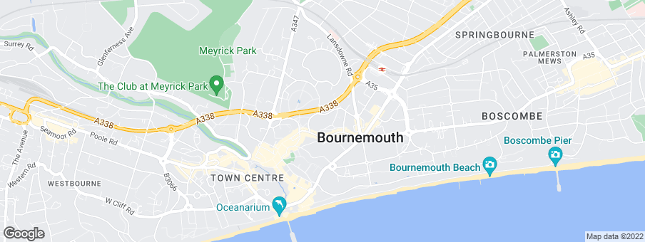 Map for The Bournemouth Development Company