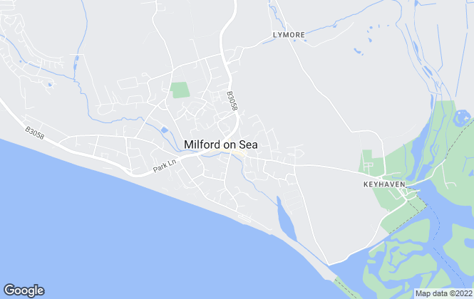 Map for Enfields, Milford On Sea