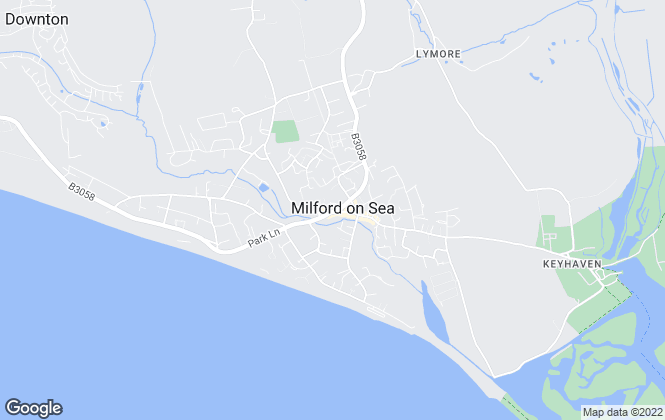 Map for Hayward Fox, Milford on sea
