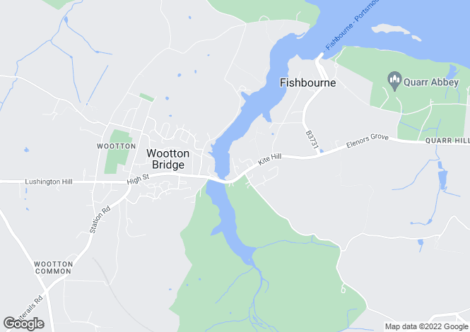 Map for Wootton Bridge