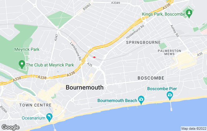 Map for Marsango Estate Agents, Bournemouth