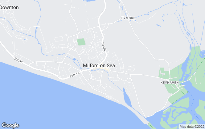 Map for Winkworth, Milford On Sea