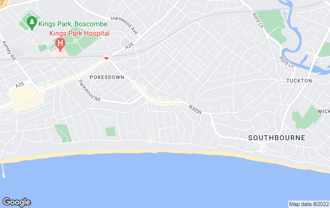 Map for Connells, Southbourne