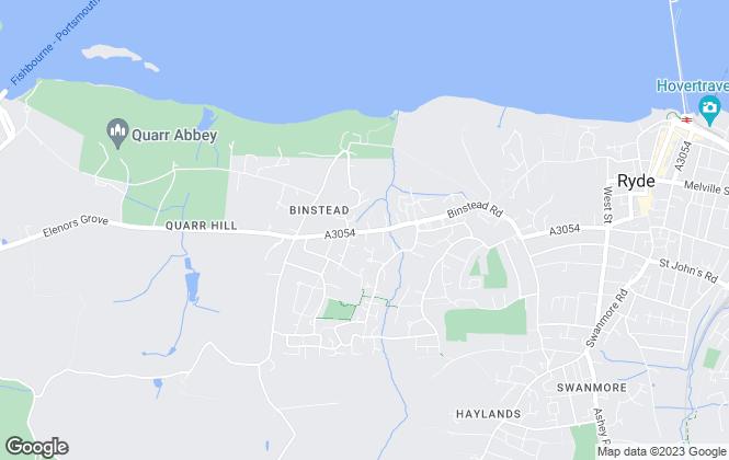 Map for Maher Ross Ltd, Ryde - Lettings