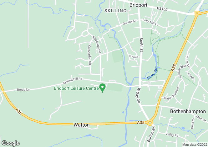 Map for Bridport