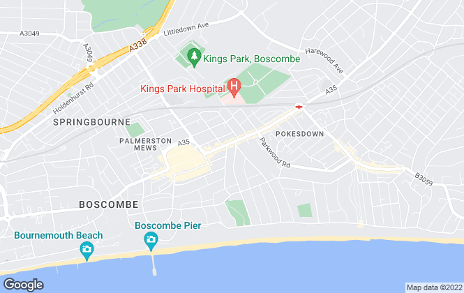 Map for Palmer Snell, Boscombe