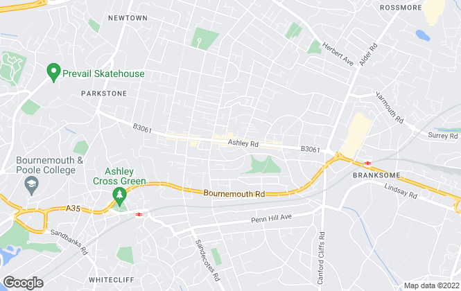 Map for RS Property Solutions Ltd, Parkstone