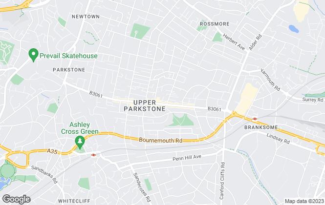 Map for Parkstone Estate Agents, Parkstone