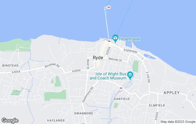 Map for Watson Bull & Porter Lettings, Ryde