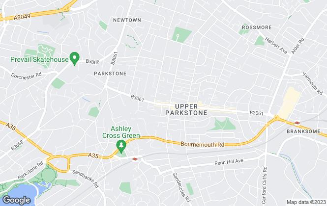 Map for Thacker & Revitt, Poole