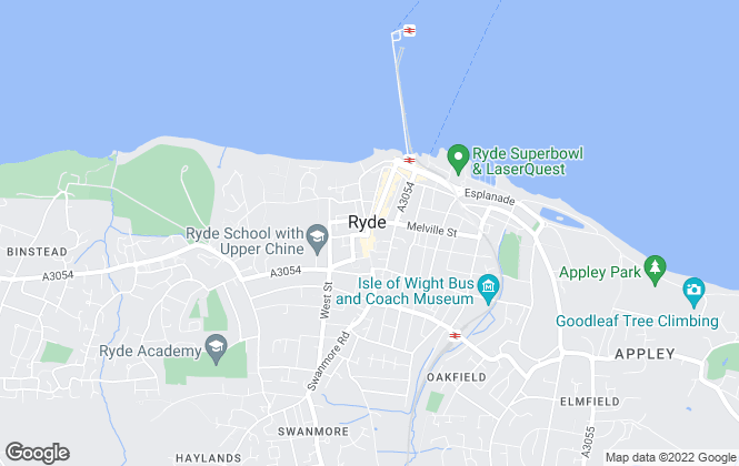 Map for The Wright Estate Agency, Ryde