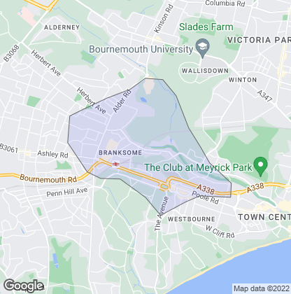 Map of property in Branksome