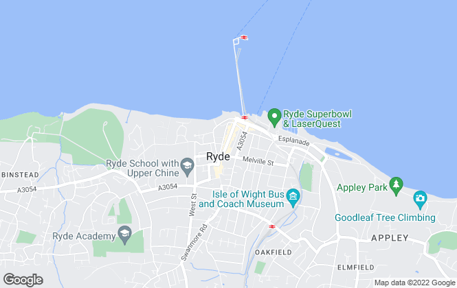Map for Pittis & Co Lettings, Ryde Lettings