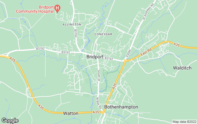 Map for Symonds & Sampson, Bridport