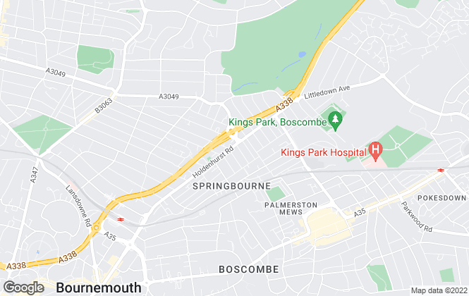 Map for Paris - Estate and Letting Agents  , Bournemouth