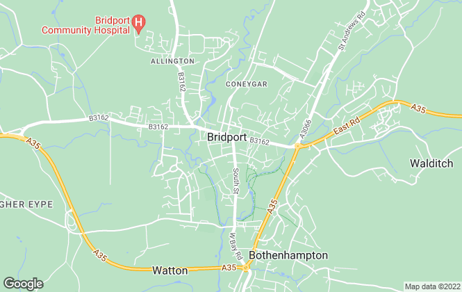 Map for Goadsby, Bridport