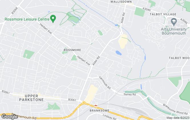 Map for Property Shop, Parkstone