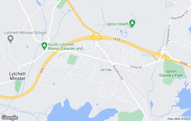 Map for Lewis Dean, Poole