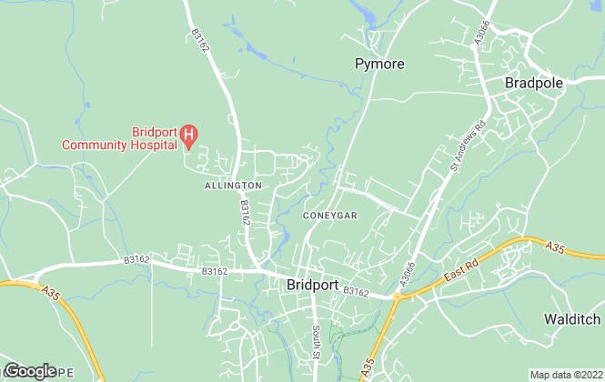 Map for Etherington Goss, Bridport