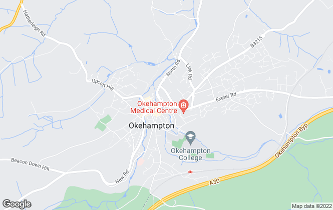 Map for Pure Lettings, Okehampton