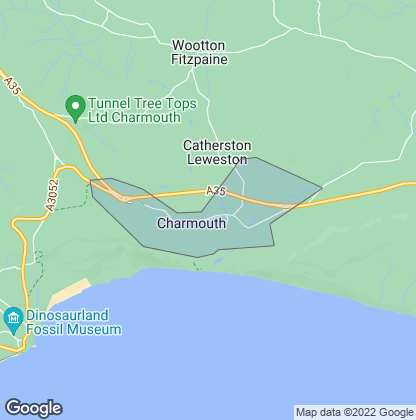 Map of property in Charmouth