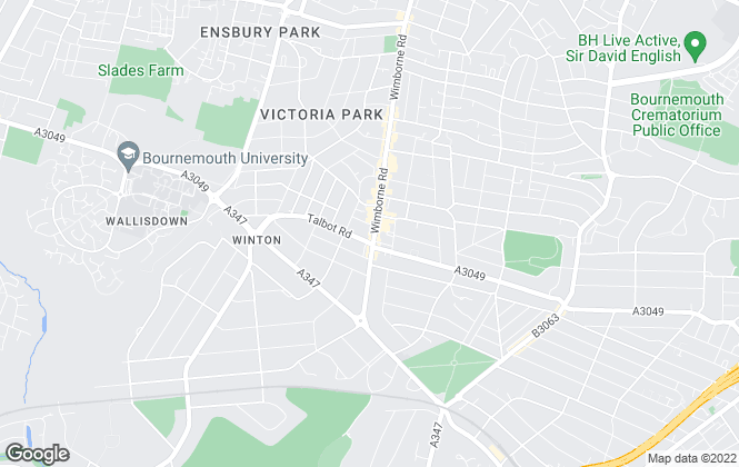Map for House & Son, Winton - Lettings