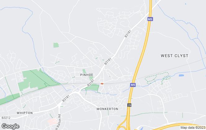 Map for Dormans Estate Agents, Exeter