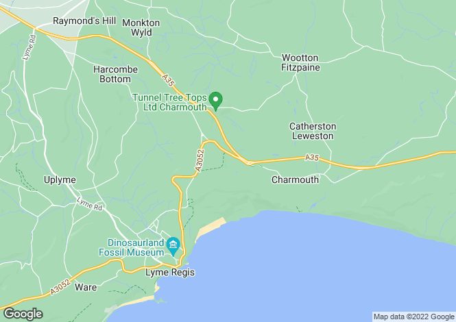 Map for Charmouth