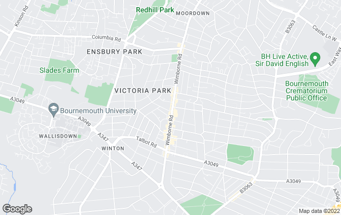Map for Athertons Estate & Letting Agents, Bournemouth