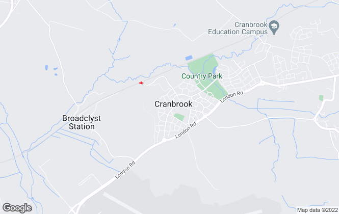 Map for Complete , Cranbrook