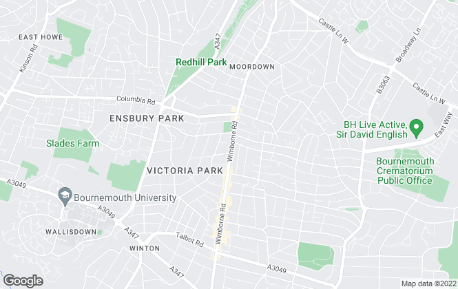Map for Clarkes Estate Agents, Bournemouth