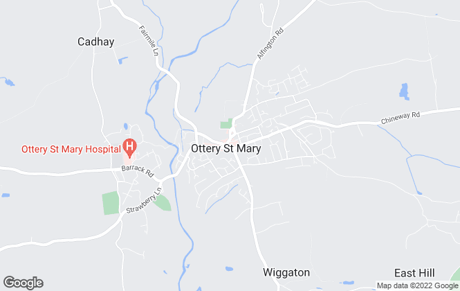 Map for Hall & Scott, Ottery St. Mary