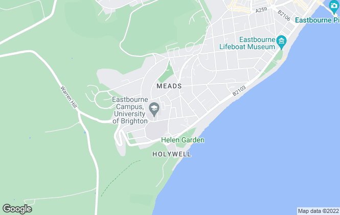 Map for Dukes Letting Department , Eastbourne