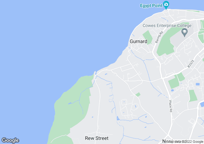Map for Marsh Road, Gurnard, Isle of Wight