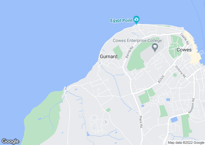 Map for Solent Lawns,