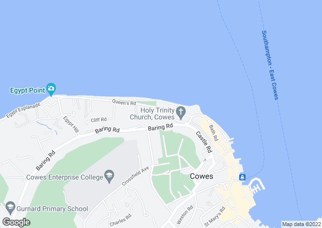 Map for Flat 11, Vantage Point