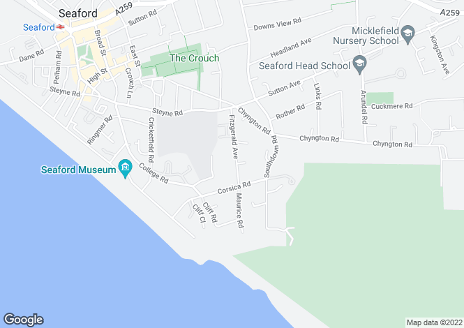 Map for 4 bedroom Detached House in Seaford