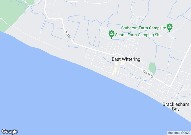 Map for Marine Drive, West Wittering, PO20 8HQ