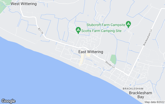 Map for Astons of Sussex , East Wittering