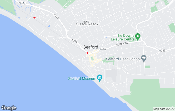 Map for Seaford Properties, Seaford