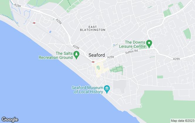 Map for David Jordan, Seaford