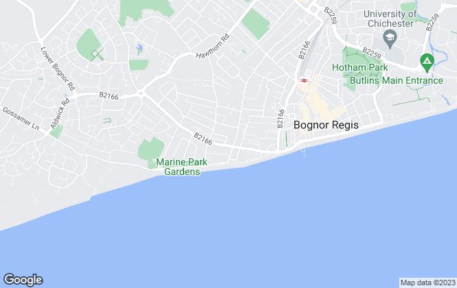 Map for Martin & Co, Bognor Regis