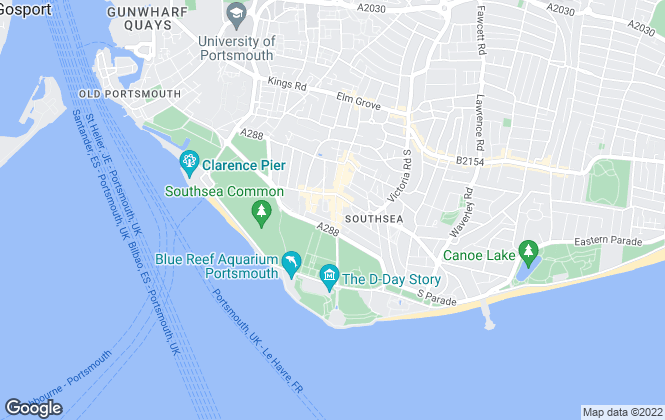 Map for Morris Dibben, Southsea