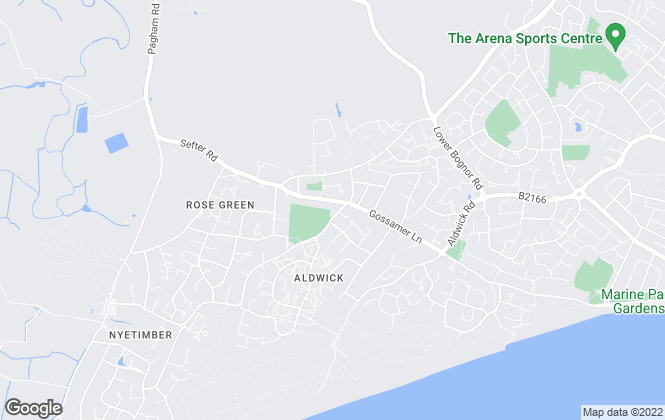 Map for Henry Adams, Rose Green