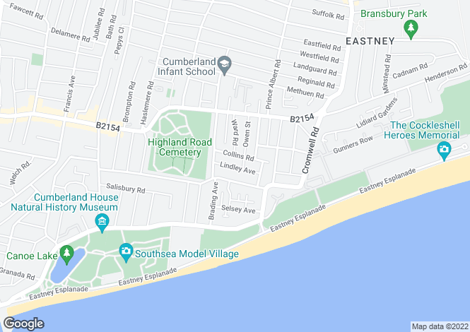 Map for Lindley Avenue,