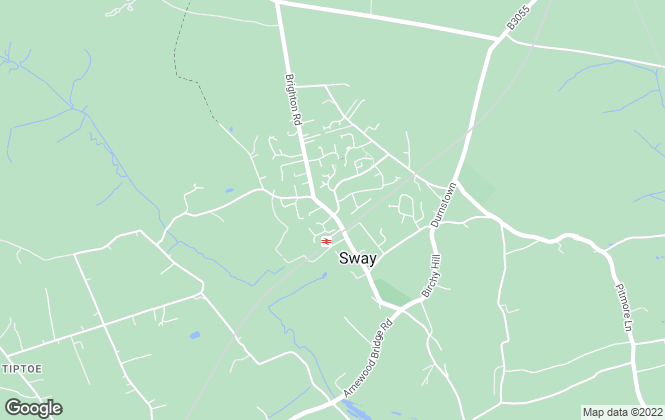 Map for Winkworth, Sway